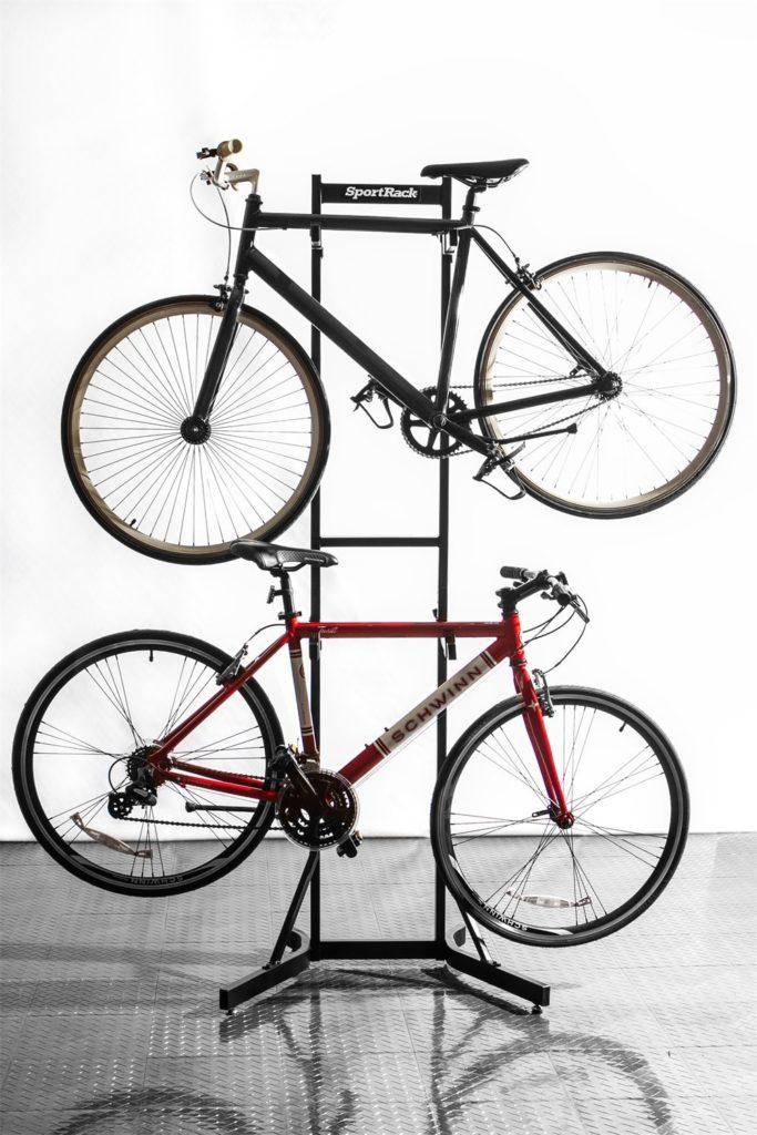 standing bike rack