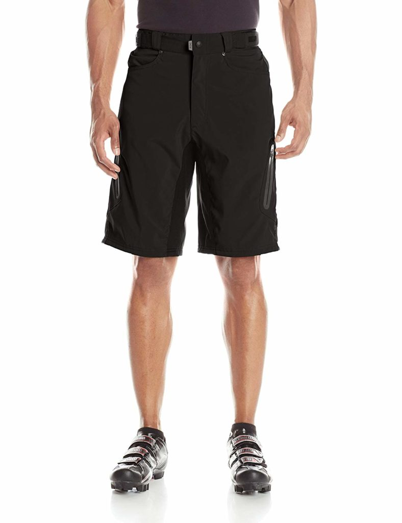 ZOIC mens mountain bike shorts